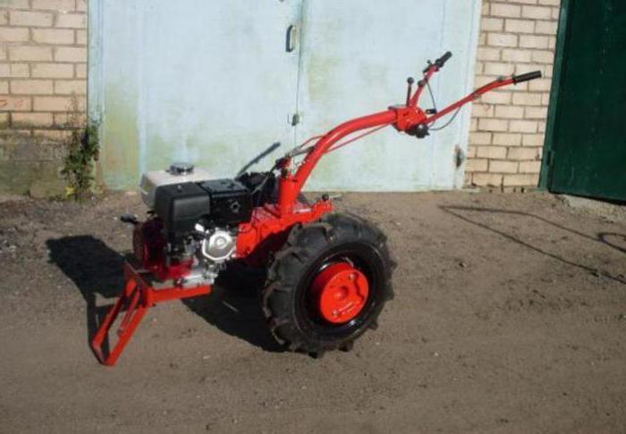 walking tractor Belarus MTZ 09