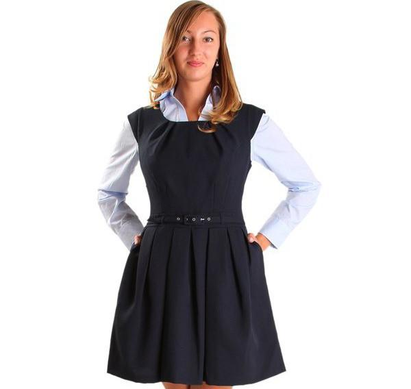 Выбор школьного платья для старшеклассницы: красота, строгость и стиль 33