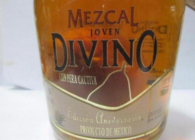 Mescal with pear