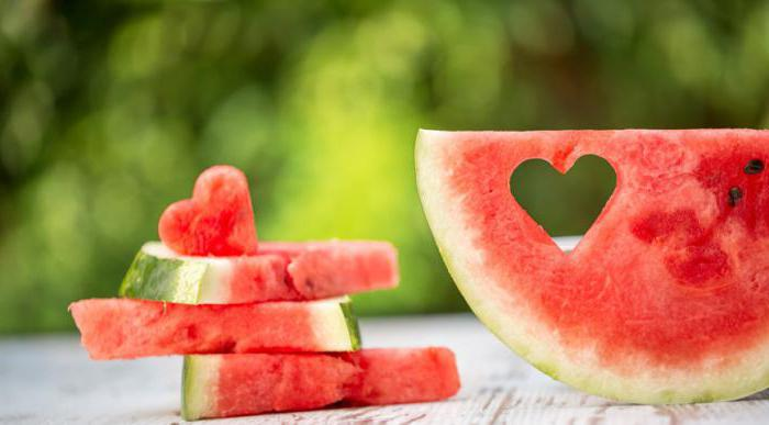 energy value of watermelon in 100 grams
