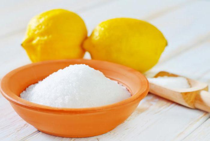 Citric acid benefit and harm