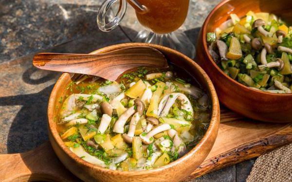 vegetarian okroshka recipe for kvass