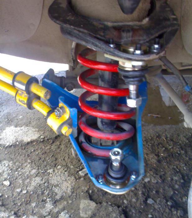 стук подвески ВАЗ-2107