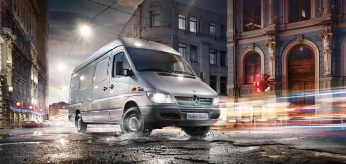 Mercedes-Benz Sprinter Classic: описание, технические характеристики, отзывы