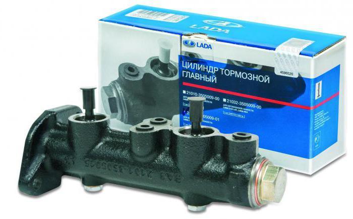 Главный тормозной цилиндр ВАЗ-2109: устройство, схема и отзывы