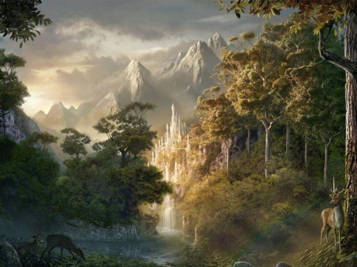elves middle earth