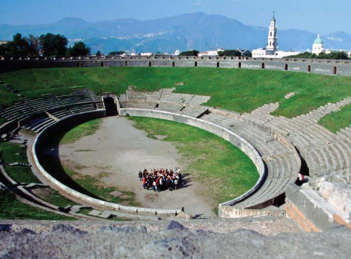 Pompeii story briefly