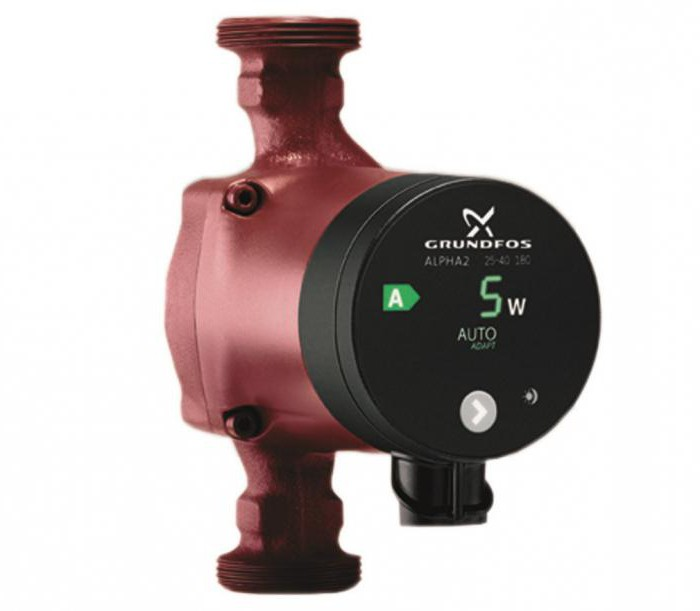 grundfos circulating pump for heating 25 40