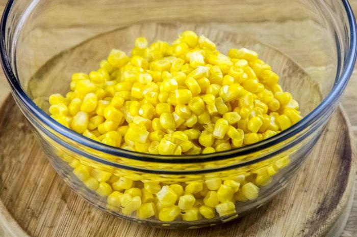 консервированная кукуруза рецепт
