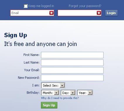 how to enter facebook