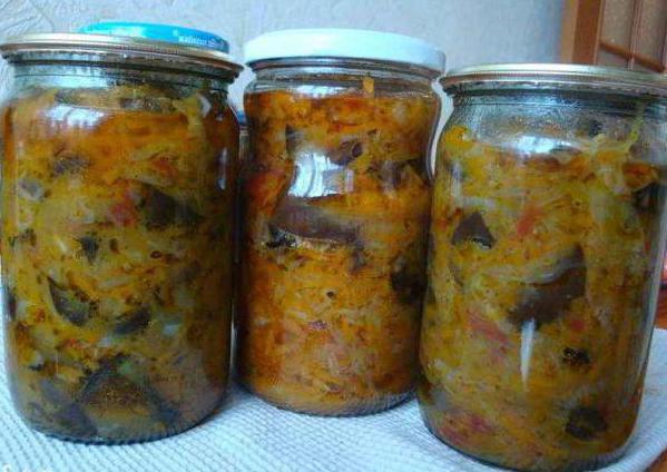 солянка с капустой с опятами на зиму рецепт