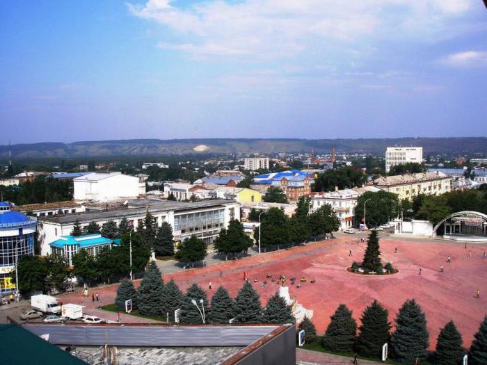 Where is the city of Armavir
