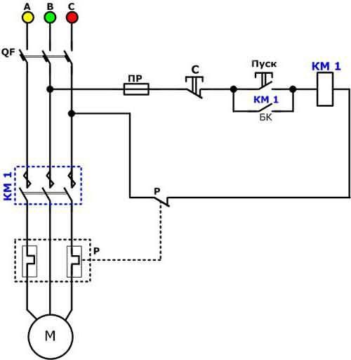 пускатель электромагнитный 220В нормально открытый