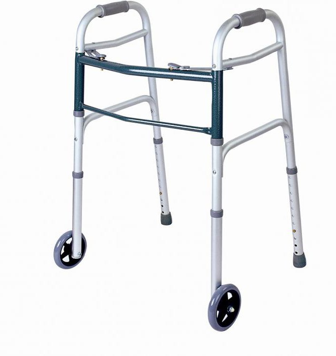 walkers for the disabled and elderly people photo