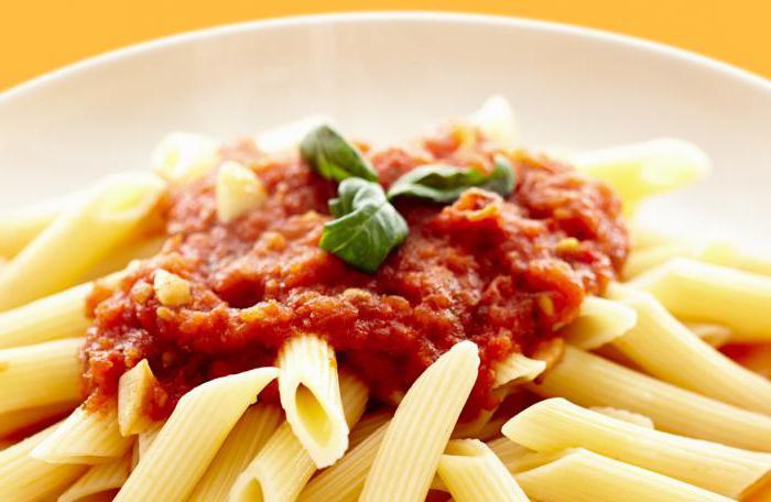 pasta types of pasta