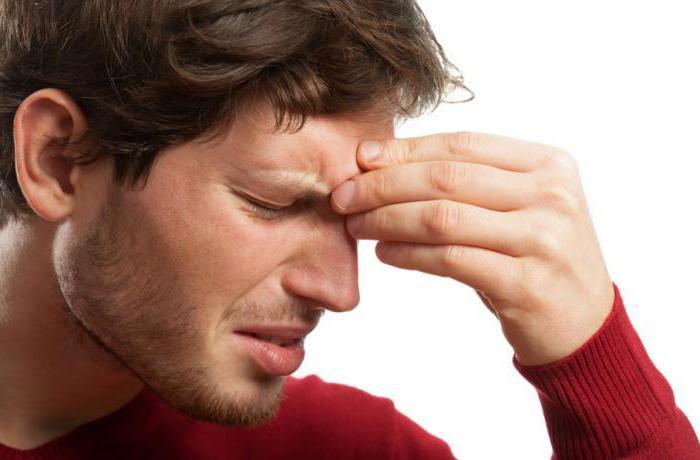 inhalation of sinusitis