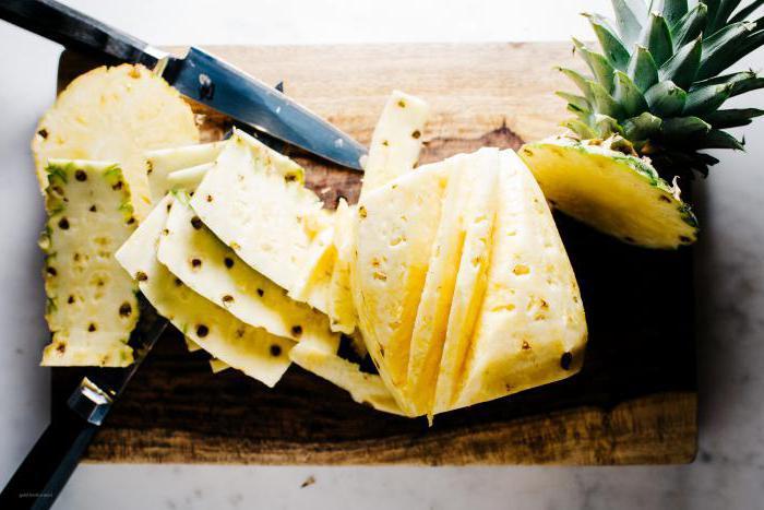 Как чистить ананас: способы и рекомендации