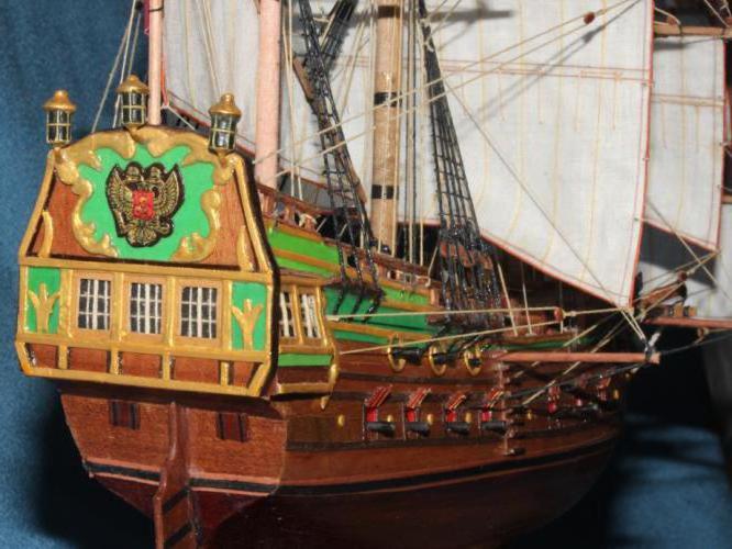 Model ship Eagle