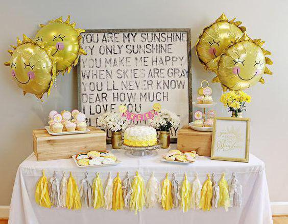 Украсить комнату на день рождения ребенка шариками