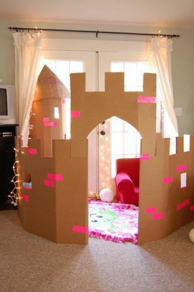 Украсить комнату ребенку на день рождения. Фото