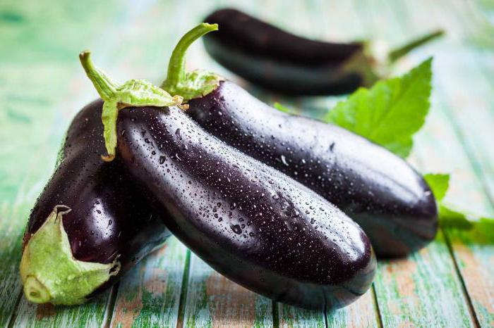 salted eggplants with garlic for the winter