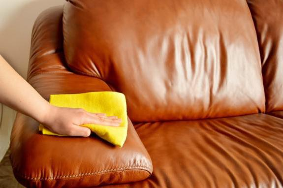 how to scrub a ballpoint pen from a leather sofa