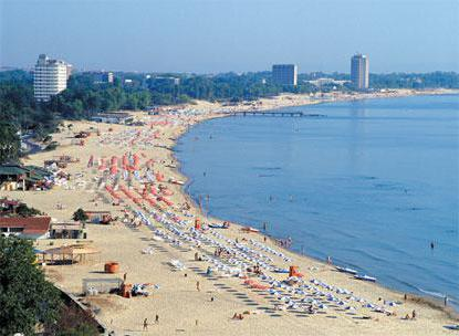 holidaymakers in Anapa