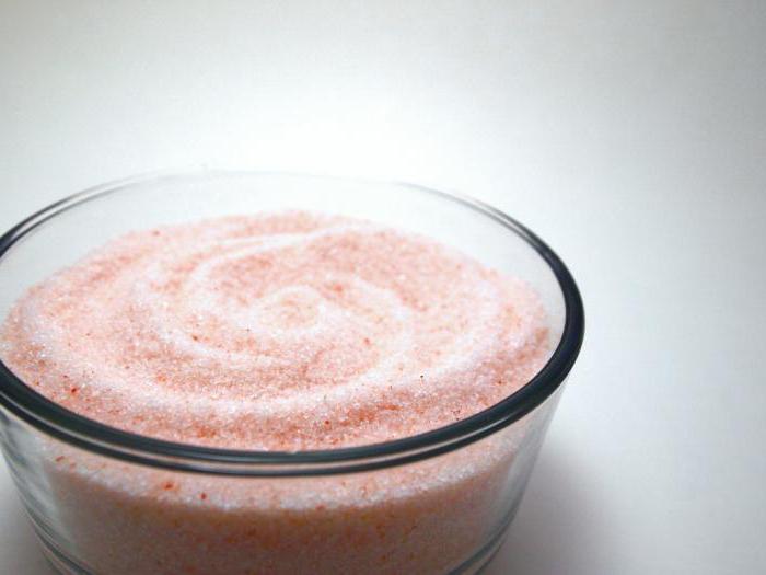 для чего применяется гималайская соль в бане