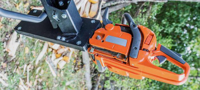 nozzle Bulgarian on a chainsaw