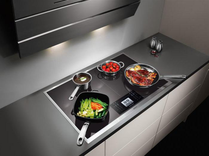 induction or electric cooktop