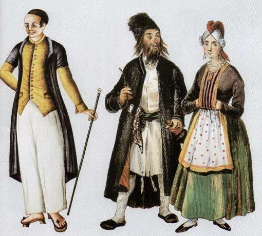 национальные костюмы народов россии евреи