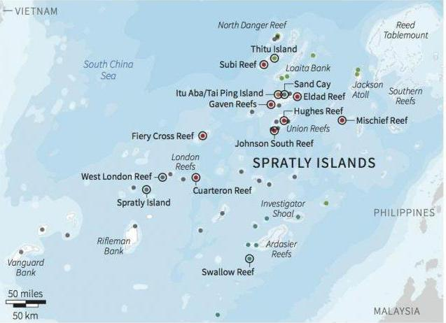 spratly islands dispute essay The spratly islands dispute remains a complex issue that has not found a resolution yet and this issue demands understanding because of the numerous implications that it may entail there are many imperatives driving the different claimants to contest for sovereignty and control over the area.