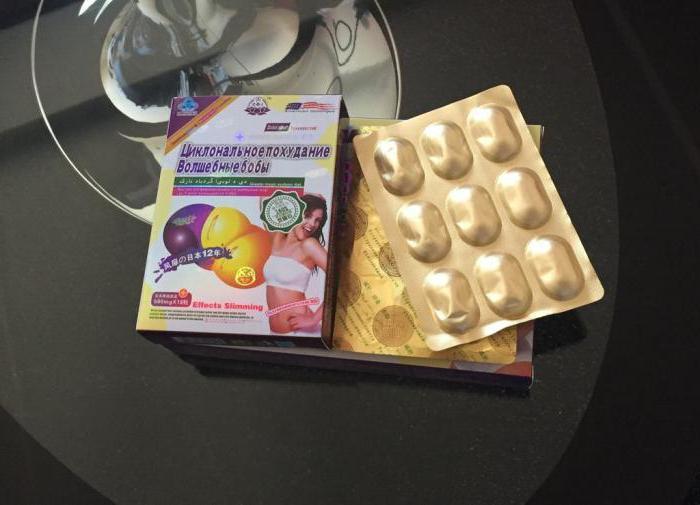 Slimming capsules magic beans
