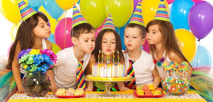 развлечения детей на день рождения
