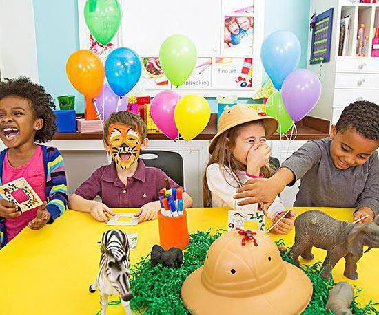 игры развлечения на день рождения для детей
