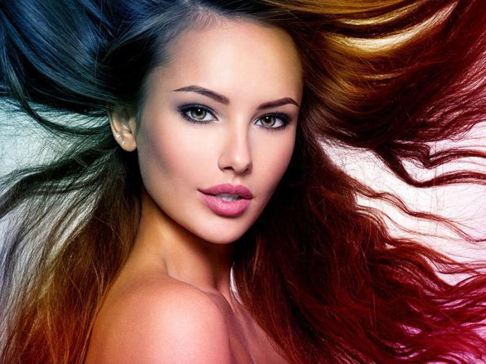 модные виды окрашивания волос
