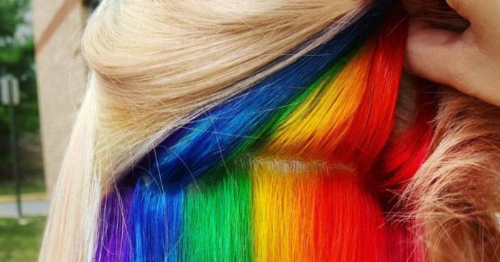 виды окрашиваний волос с названиями
