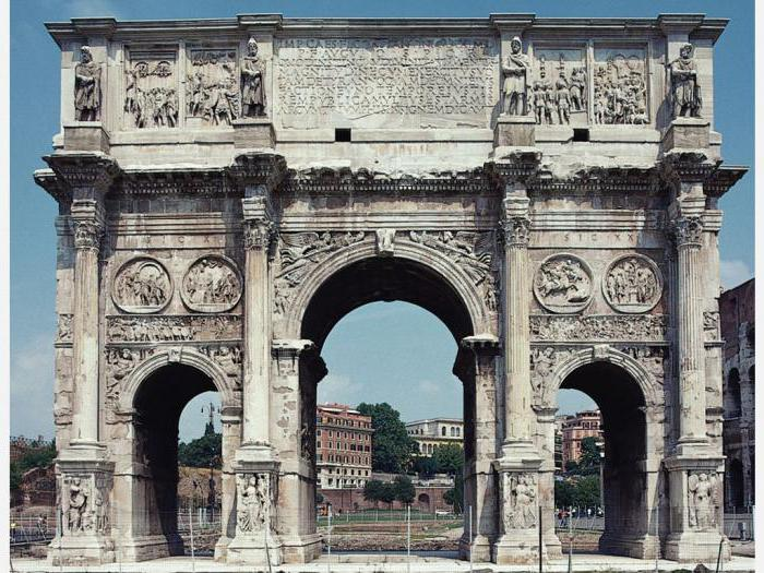 How many triumphal arches in the world