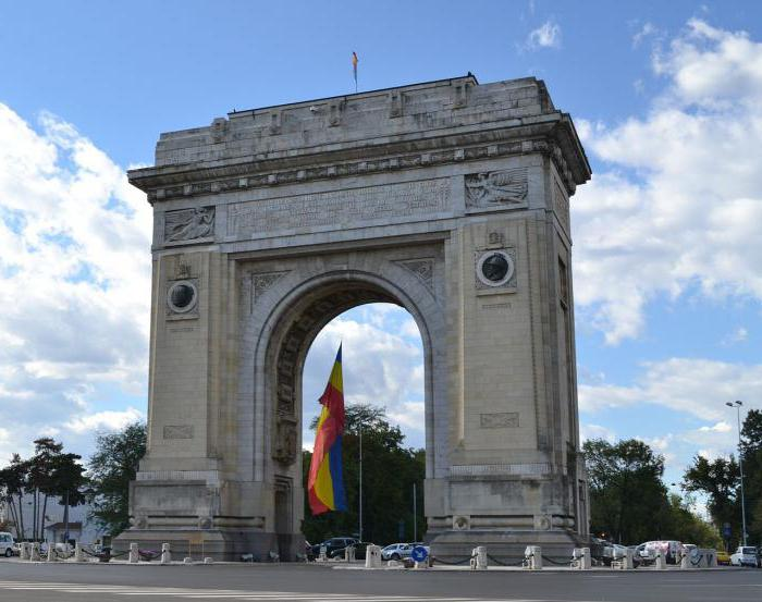 The most famous triumphal arches of the world