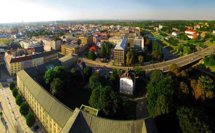 Sights of Ostrava, Czech Republic