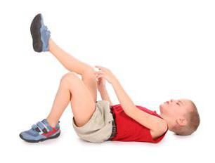 ребенок жалуется на боли в ногах