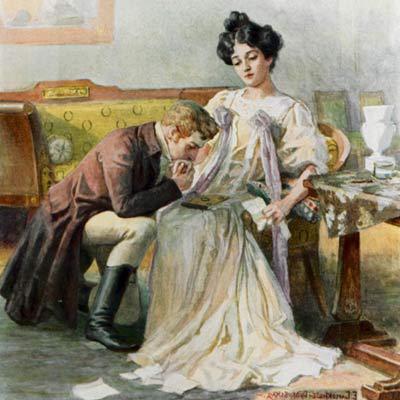 Pushkin's romantic lyrics