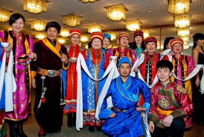 traditions of the Buryat people