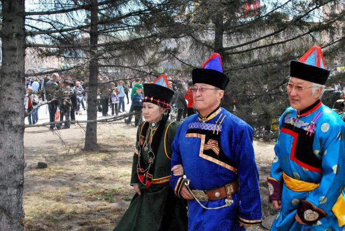 interesting traditions of the Buryat people