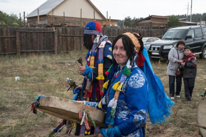 traditions of the buryat people briefly