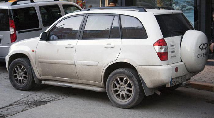 Характеристика автомобиля чери тигго