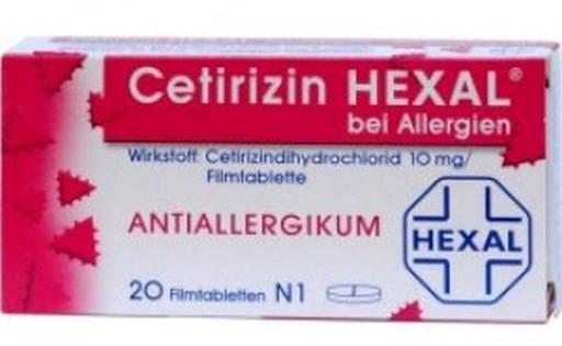 Что относится к антигистаминным препаратам