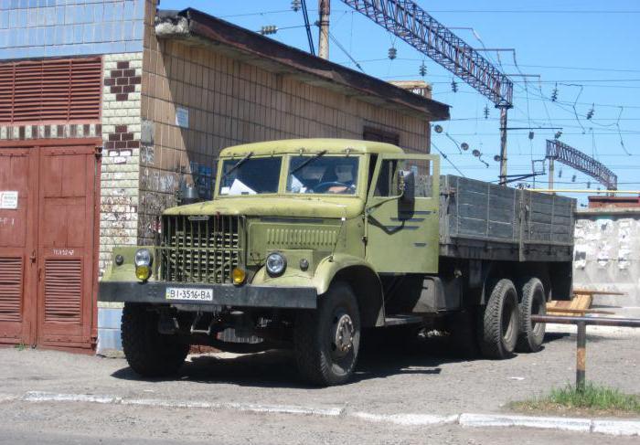 Бортовой грузовик КрАЗ-257