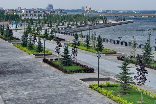 parks in Kazan