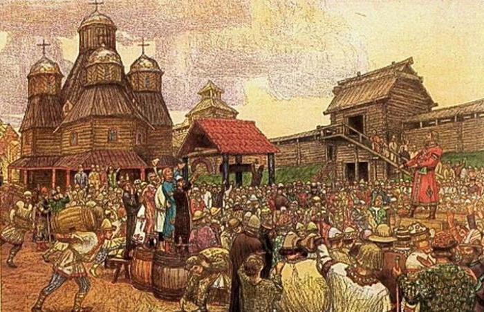 legal status of the population in Russian truth